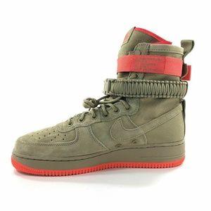 Nike SF AF1 Air Force 1 Khaki 864024 205 Size 9.5